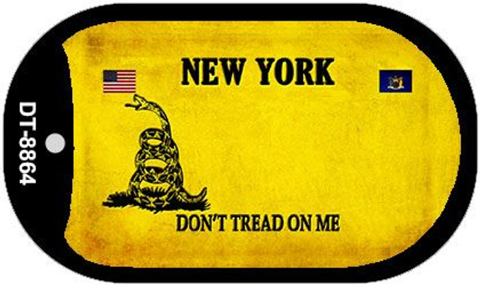 New York Do Not Tread Wholesale Dog Tag Necklace DT-8864