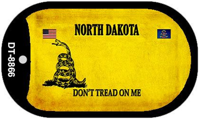 North Dakota Do Not Tread Wholesale Dog Tag Necklace DT-8866