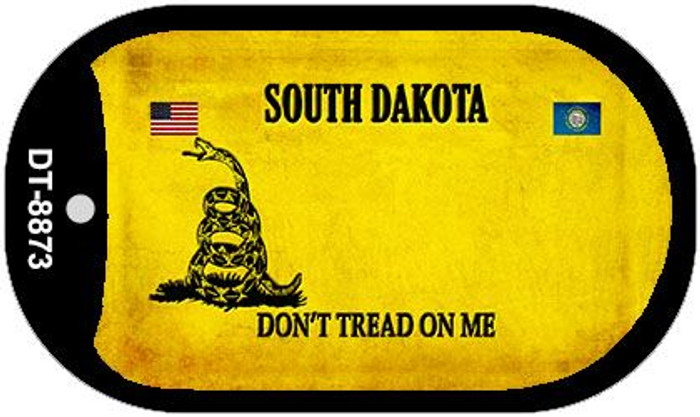 South Dakota Do Not Tread Wholesale Dog Tag Necklace DT-8873