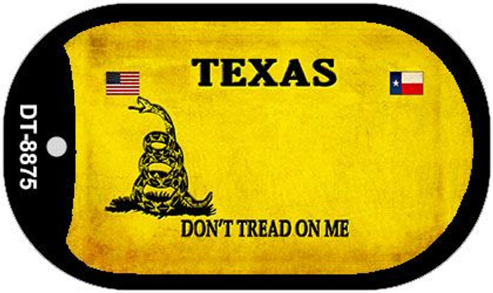 Texas Do Not Tread Wholesale Dog Tag Necklace DT-8875