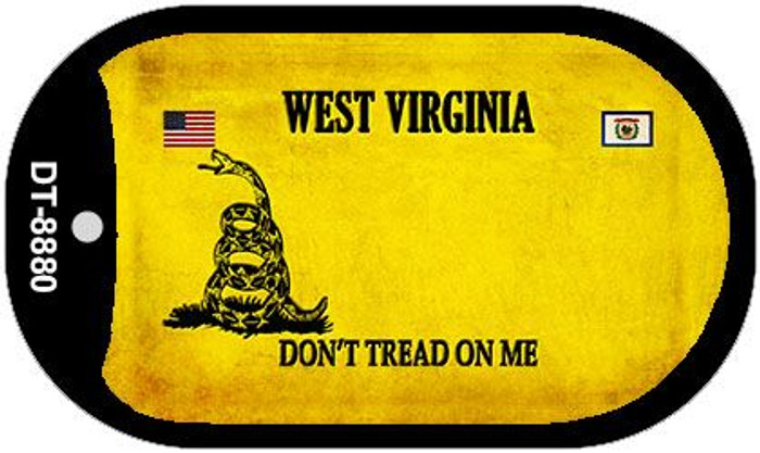 West Virginia Do Not Tread Wholesale Dog Tag Necklace DT-8880