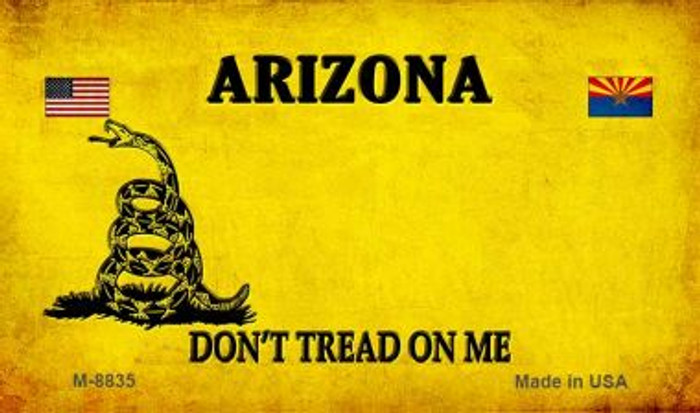 Arizona Do Not Tread Wholesale Aluminum Magnet M-8835
