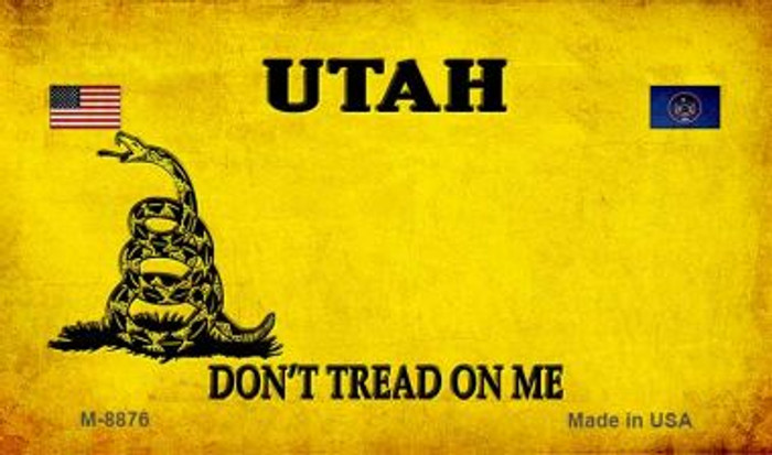Utah Do Not Tread Wholesale Aluminum Magnet M-8876