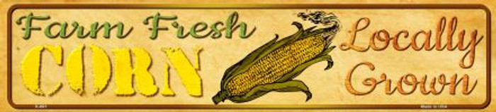 Farm Fresh Corn Wholesale Mini Street Sign K-661