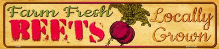 Farm Fresh Beets Wholesale Mini Street Sign K-662