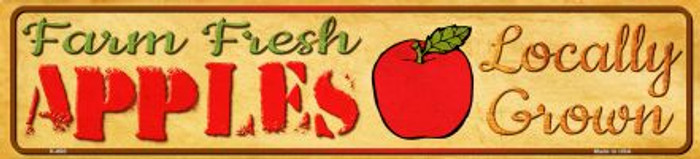 Farm Fresh Apples Wholesale Mini Street Sign K-680