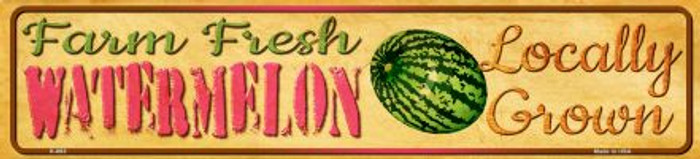Farm Fresh Watermelon Wholesale Mini Street Sign K-693