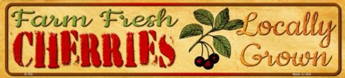 Farm Fresh Cherries Wholesale Mini Street Sign K-702