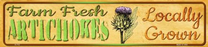 Farm Fresh Artichokes Wholesale Mini Street Sign K-712
