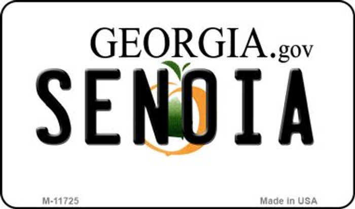 Senoia Georgia State Wholesale Novelty Magnet M-11725