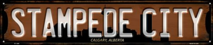 Calgary Alberta Stampede City Wholesale Novelty Metal Street Sign ST-1266