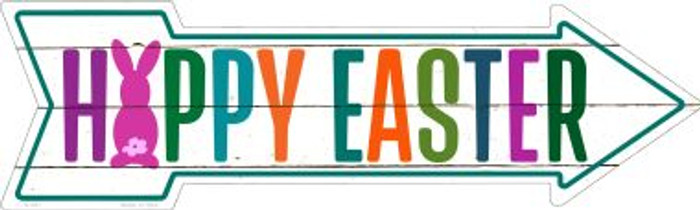 Happy Easter Wholesale Novelty Metal Arrow Sign A-397