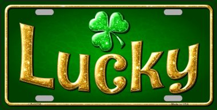 Lucky Irish Wholesale Novelty License Plate LP-11739