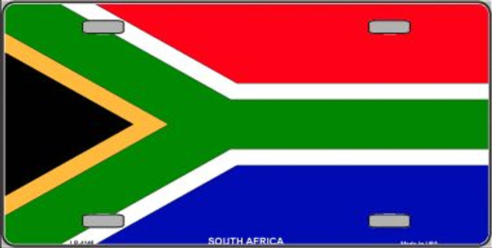 South Africa Flag Wholesale Metal Novelty License Plate LP-4146