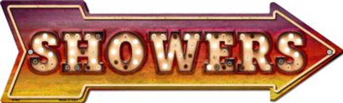 Showers Bulb Letters Wholesale Novelty Arrow Sign A-462