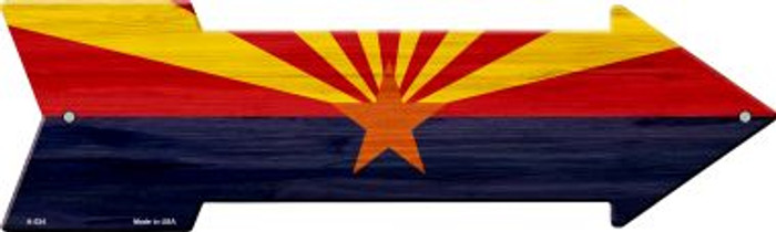 Arizona State Flag Wholesale Novelty Arrows A-524