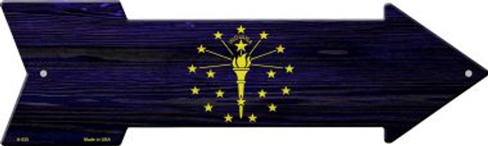 Indiana State Flag Wholesale Novelty Arrows A-535