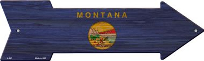 Montana State Flag Wholesale Novelty Arrows A-547