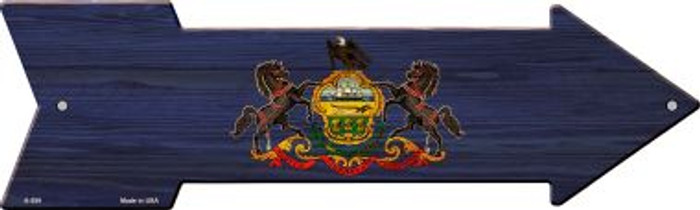 Pennsylvania State Flag Wholesale Novelty Arrows A-559