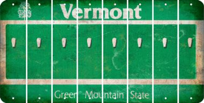 Vermont APOSTROPHE Cut License Plate Strips (Set of 8) LPS-VT1-038