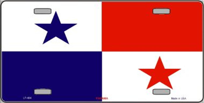 Panama Flag Wholesale Metal Novelty License Plate LP-464