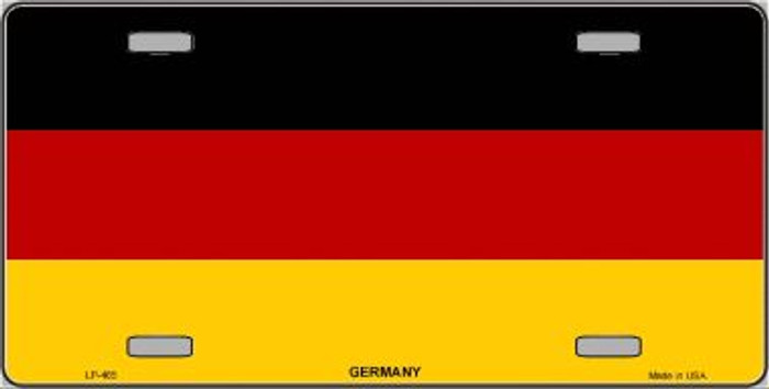 Germany Flag Wholesale Metal Novelty License Plate LP-465