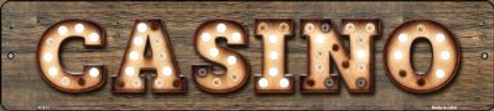 Casino Bulb Lettering Wholesale Small Street Signs K-811