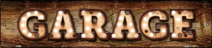 Garage Bulb Lettering Wholesale Small Street Signs K-839