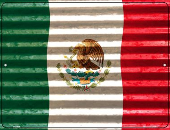 Mexico Flag Wholesale Novelty Parking Sign P-2309