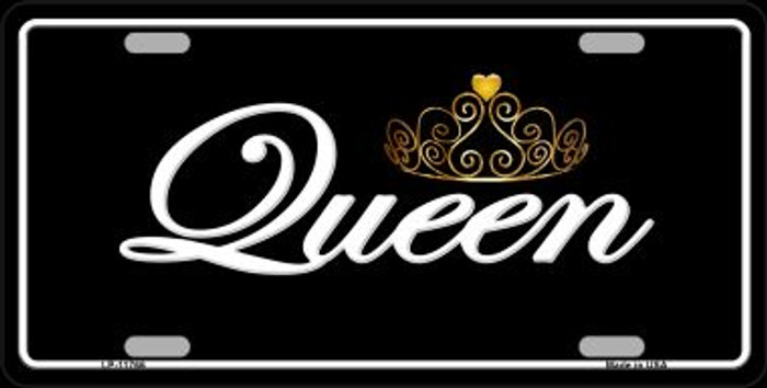 Queen Wholesale Novelty License Plate LP-11766
