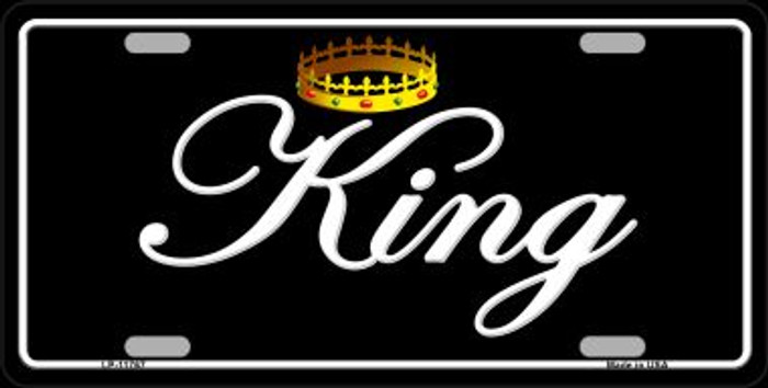 King Wholesale Novelty License Plate LP-11767