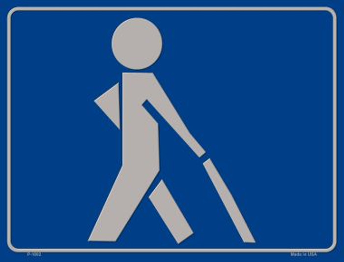 Visually Impaired Walking Stick Wholesale Parking Sign P-1802
