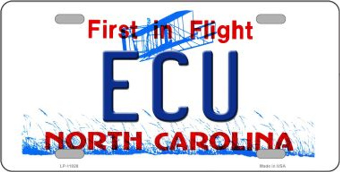 ECU North Carolina Wholesale Novelty License Plate LP-11828