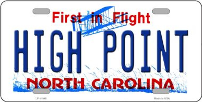 High Point North Carolina Wholesale Novelty License Plate LP-11848