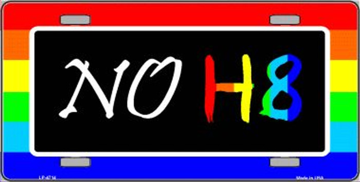 NO H8 Wholesale Metal Novelty License Plate LP-4714