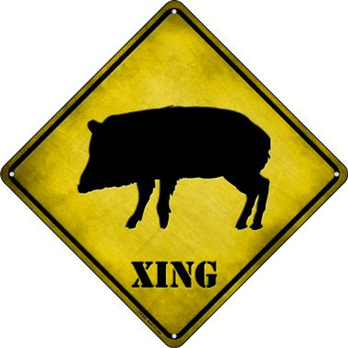 Havalena Xing Wholesale Novelty Crossing Sign CX-360