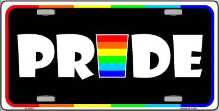 Pride Wholesale Metal Novelty License Plate LP-4742