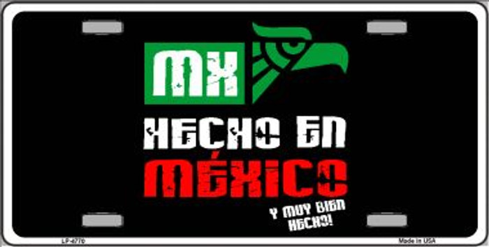 Made In Mexico Wholesale Metal Novelty License Plate LP-4770