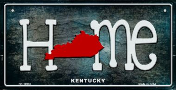 Kentucky Home State Outline Wholesale Novelty Bicycle Plate BP-12008