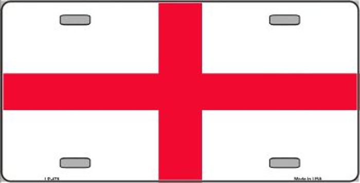 England Flag Wholesale Metal Novelty License Plate LP-479