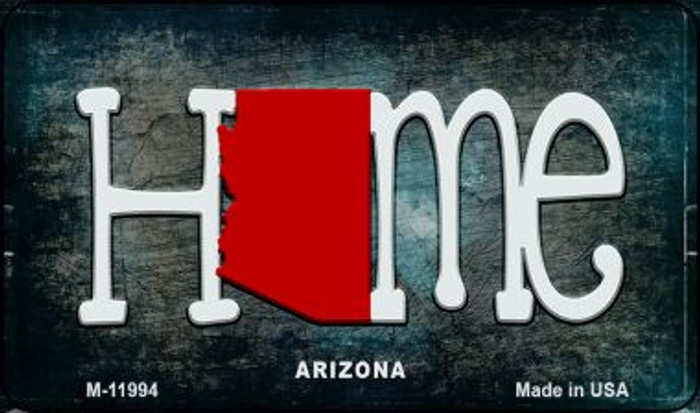 Arizona Home State Outline Wholesale Novelty Magnet M-11994