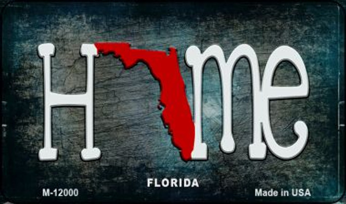 Florida Home State Outline Wholesale Novelty Magnet M-12000