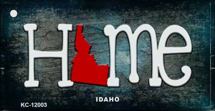 Idaho Home State Outline Wholesale Novelty Key Chain KC-12003