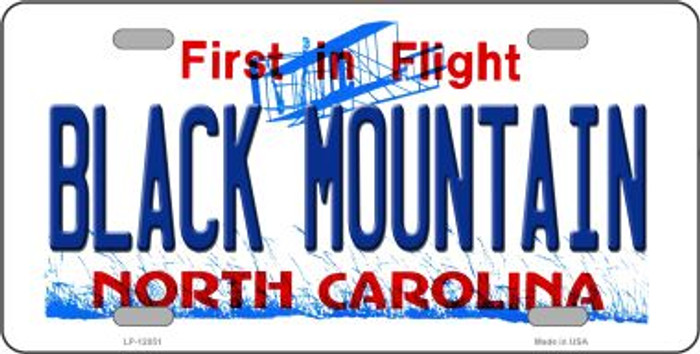 Black Mountain North Carolina Novelty Wholesale Metal License Plate LP-12051
