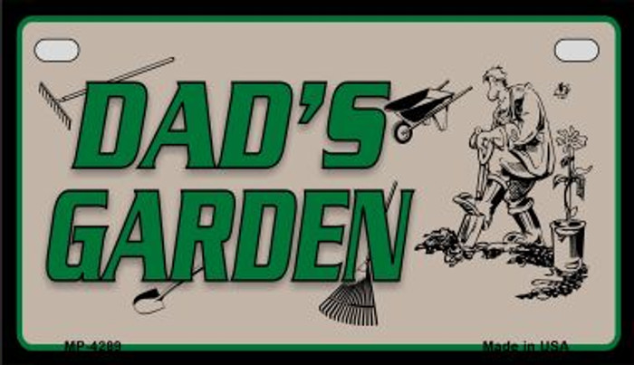 Dads Garden Wholesale Metal Novelty Motorcycle License Plate MP-4289