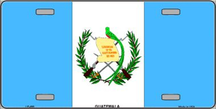 Guatemala Flag Wholesale Metal Novelty License Plate LP-488