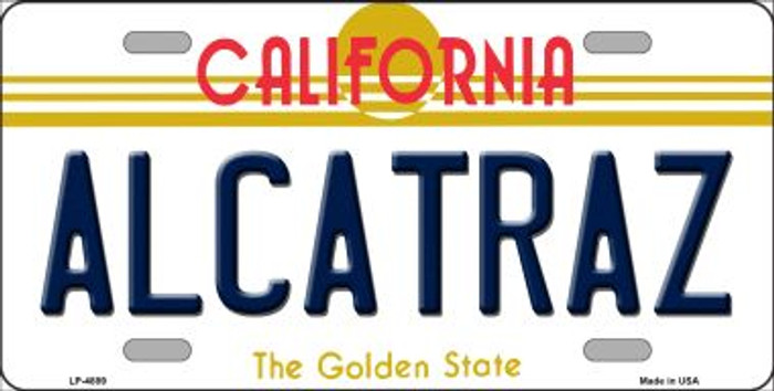 Alcatraz California Novelty Wholesale Metal License Plate LP-4889
