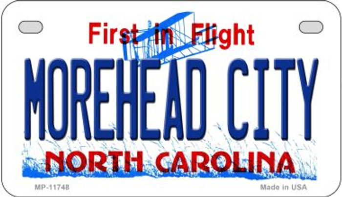 Morehead City North Carolina Wholesale State Motorcycle License Plate MP-11748
