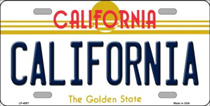 California Novelty Wholesale Metal License Plate LP-4897