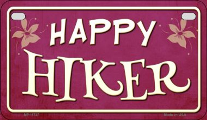 Happy Hiker Wholesale Novelty Motorcycle License Plate MP-11737